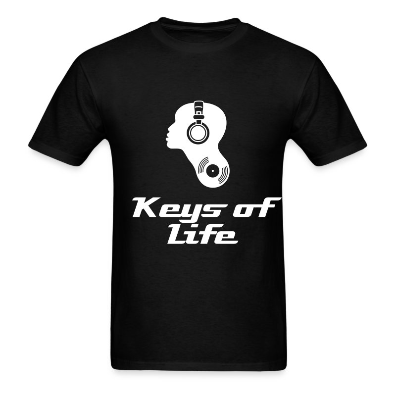 Keys of Life  - Men's T-Shirt