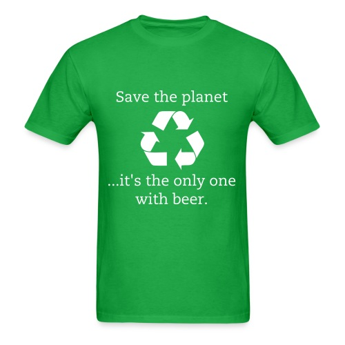 Save the Planet - Men's T-Shirt