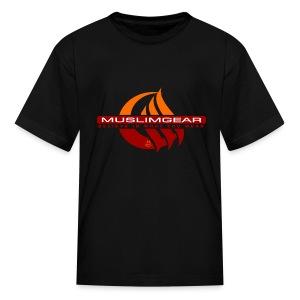 Moon wave Kids T-Shirt - Kids' T-Shirt