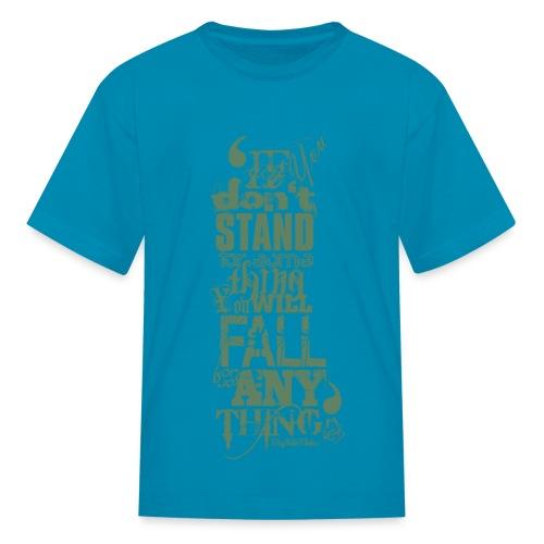 MalcolmX Kids T-Shirt - Kids' T-Shirt