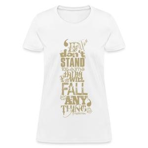 MalcolmX women T-Shirt - Women's T-Shirt