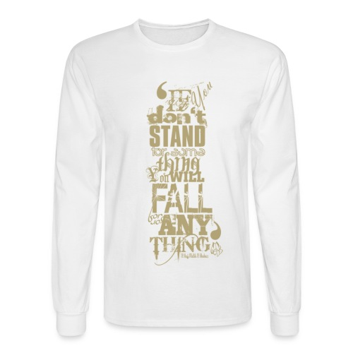 MalcolmX  Long sleeved T-Shirt - Men's Long Sleeve T-Shirt