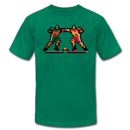 T-Shirts ~ Men's T-Shirt by American Apparel ~ The Enforcers - Blades of Steel