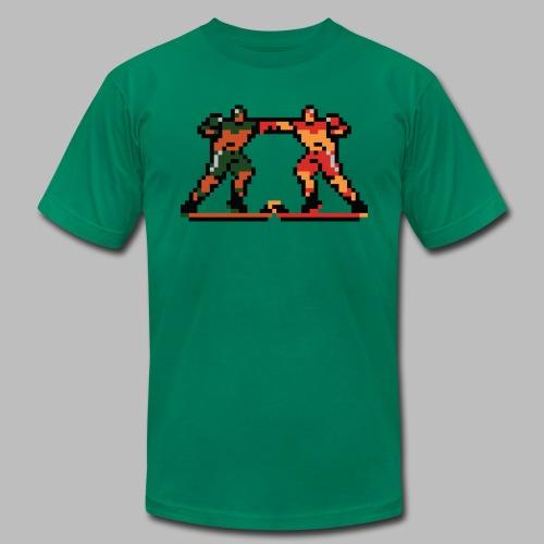 The Enforcers - Blades of Steel - Men's Fine Jersey T-Shirt