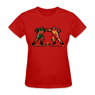T-Shirts ~ Women's T-Shirt ~ The Enforcers - Blades of Steel