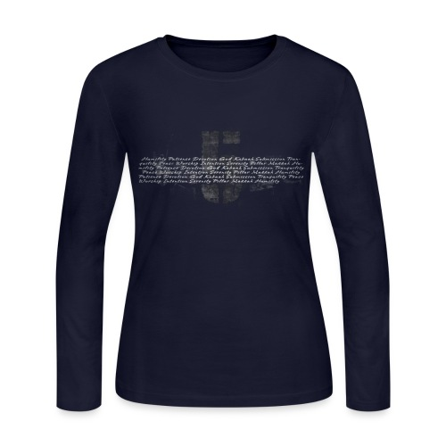 Five Prayers women long sleeve T-Shirt - Women's Long Sleeve Jersey T-Shirt