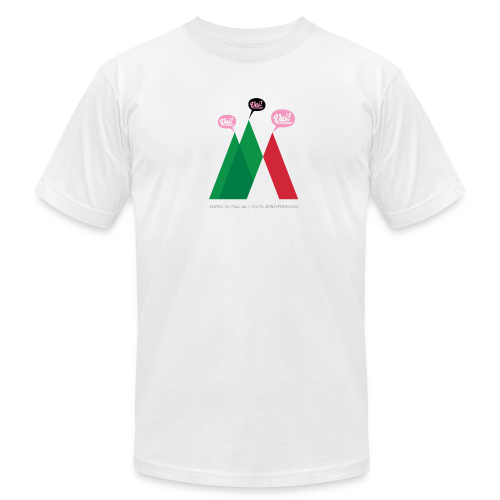 Giro Tre Vai! - Men's T-Shirt by American Apparel