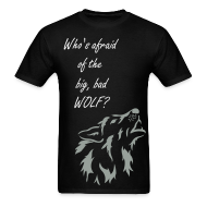 T-Shirts ~ Men's T-Shirt ~ Big, Bad Wolf Men's Standard Weight Shirt