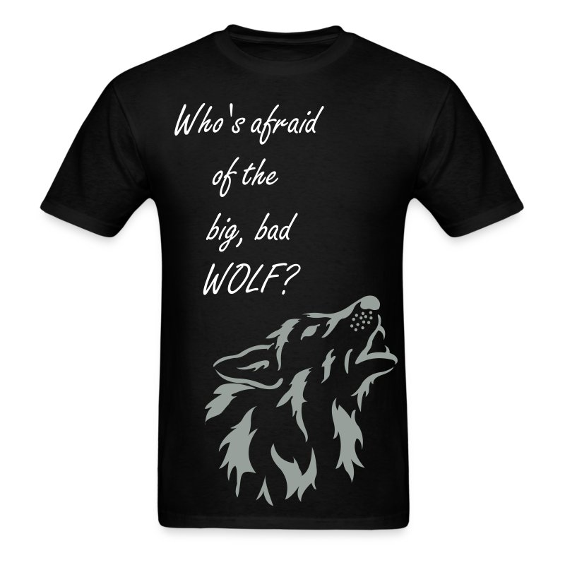 Big, Bad Wolf Men's Standard Weight Shirt - Men's T-Shirt