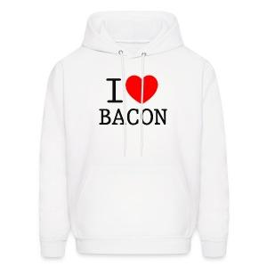 I LOVE BACON - Men's Hoodie