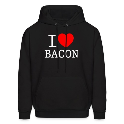 I LOVE BACON - Men's Hoodie