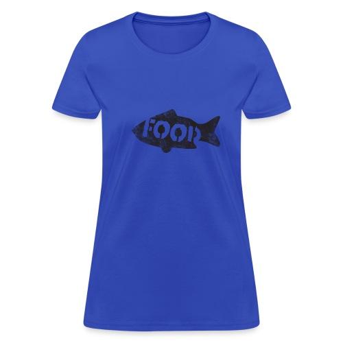 PALEO fish - women's - Women's T-Shirt