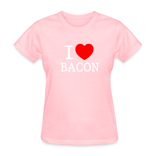 I LOVE BACON - women's - Women's T-Shirt