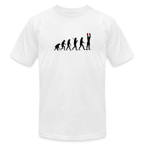 Evolution Kettlebell Double Press - Men's  Jersey T-Shirt