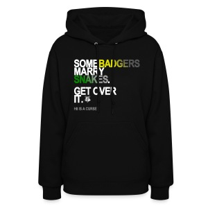 Some Badgers Marry Snakes Sweatshirt - Women's Hoodie