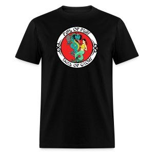 Circle Men's Fins of Fury T-shirt - Men's T-Shirt