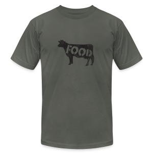 *AA* PALEO cow - Men's T-Shirt by American Apparel