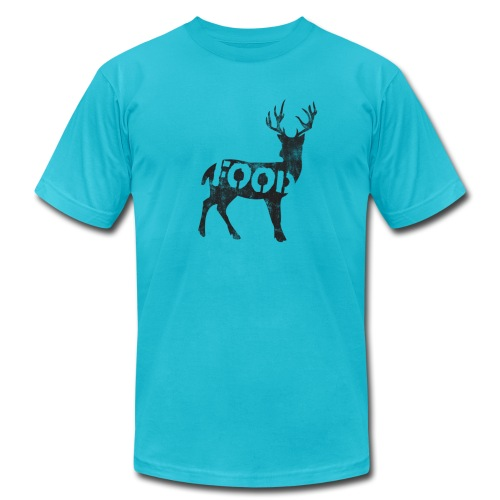 *AA* PALEO deer - Men's T-Shirt by American Apparel