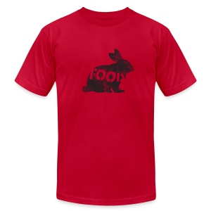 *AA* PALEO rabbit - Men's T-Shirt by American Apparel