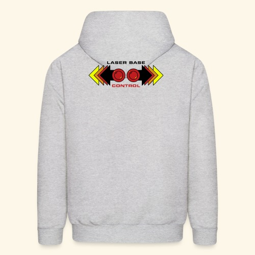 Fire Laser (back- and frontprint) - Men's Hoodie