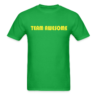 T-Shirts ~ Men's T-Shirt ~ TEAM AWESOME CAPTAIN