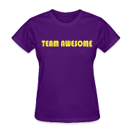 T-Shirts ~ Women's T-Shirt ~ TEAM AWESOME CAPTAIN