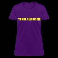 Women's T-Shirts ~ Women's T-Shirt ~ TEAM AWESOME CAPTAIN