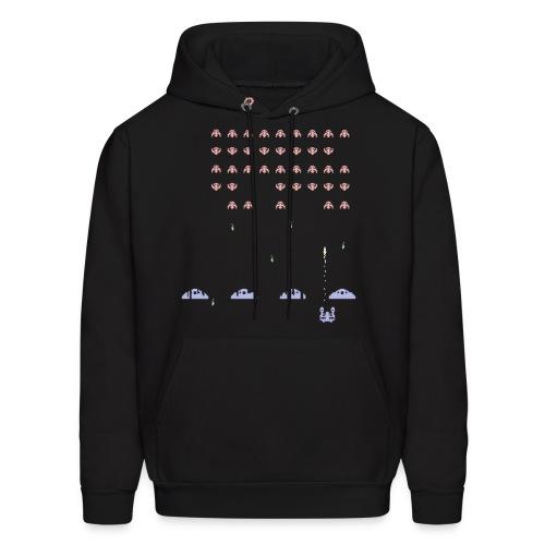 SC Invaders - Men's Black Hoodie - Men's Hoodie