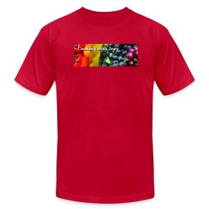 Men's Large Logo T Shirt - Men's Fine Jersey T-Shirt