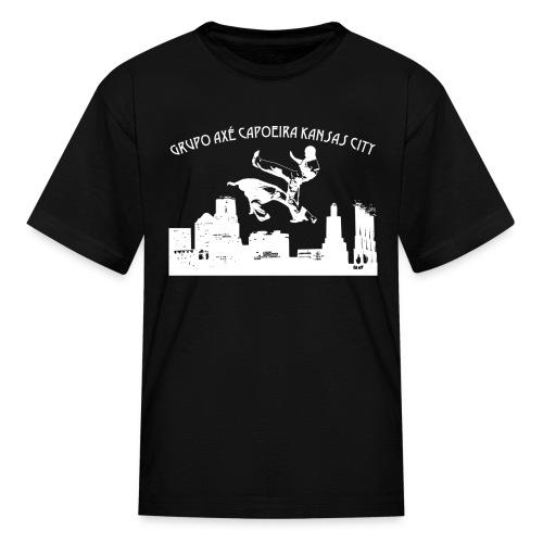 Kid's Grupo Axe Capoeira Kansas City T Shirt - Kids' T-Shirt