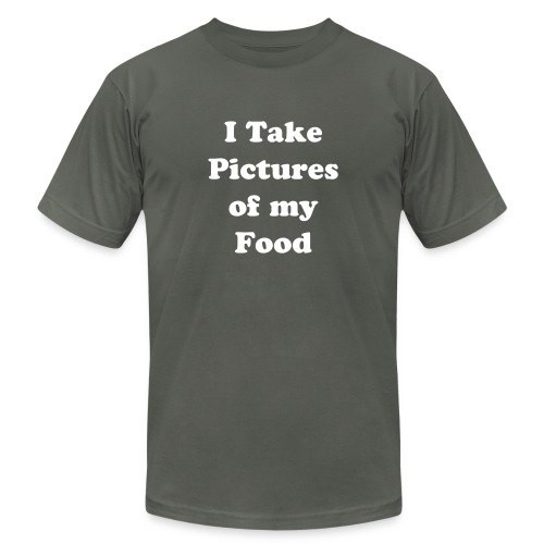 I Take Pictures of my Food  - Men's  Jersey T-Shirt
