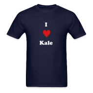 T-Shirts ~ Men's T-Shirt ~ I Heart Kale