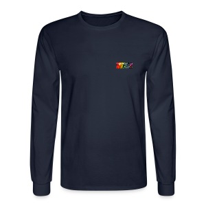 Men's Small Logo Long Sleeve T Shirt - Men's Long Sleeve T-Shirt
