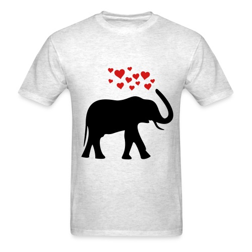 Elephant luve - Men's T-Shirt