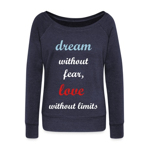 DWFLWL - Women's Wideneck Sweatshirt