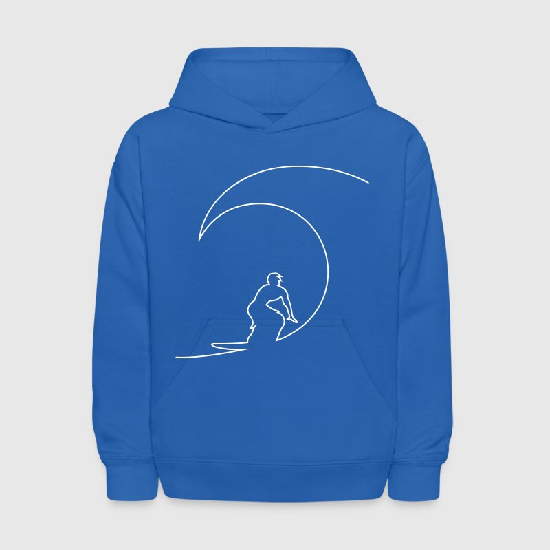The Wave Sweatshirts - Kids' Hoodie