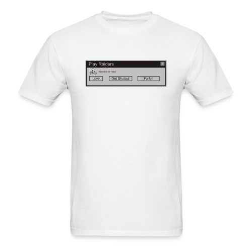 RaidersError Message - Men's T-Shirt