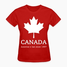 Maple Leaf Women's T-Shirts