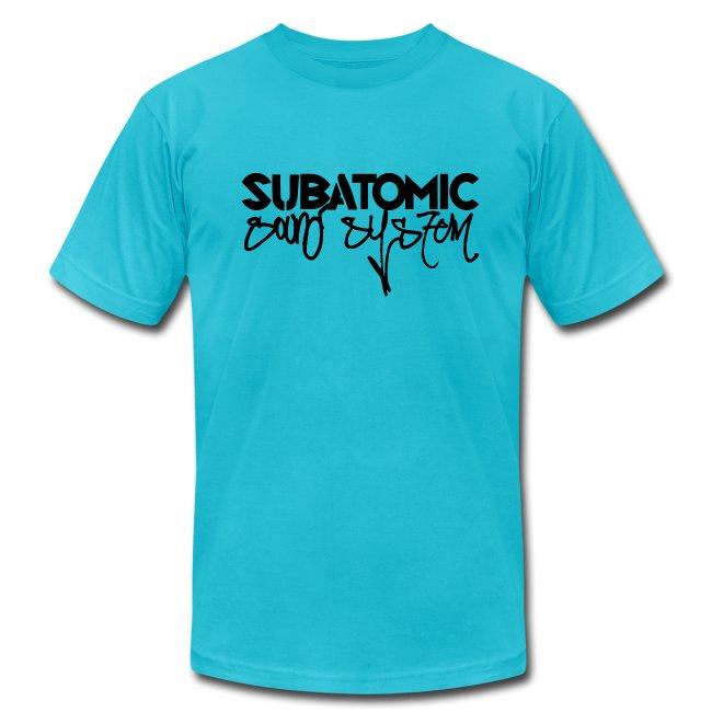Subatomic Sound System black graffiti logo