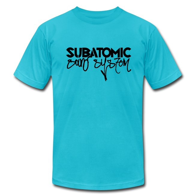 Subatomic Sound System black graffiti logo