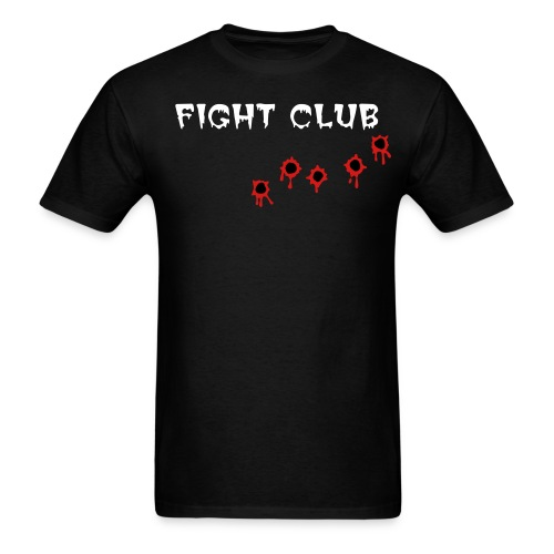 Fight Club Bullet Holes - Men's T-Shirt