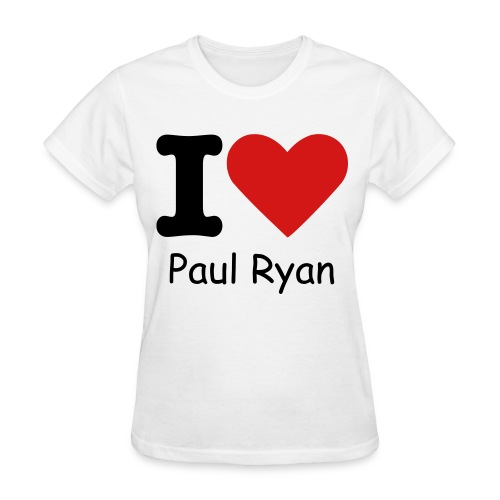 I Heart Paul Ryan - Womens - Women's T-Shirt