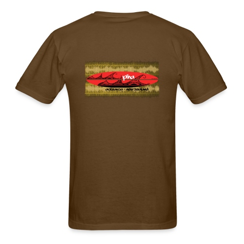 red board piha - Men's T-Shirt