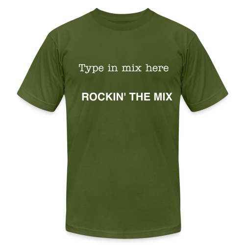 CUSTOM  - ROCK YOUR MIX  - Men's  Jersey T-Shirt