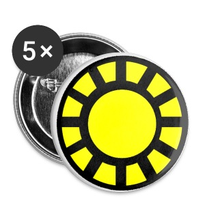 SunVulcan Badge Small Button - Small Buttons