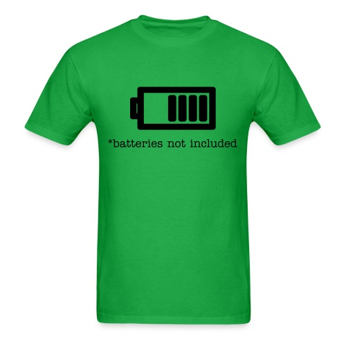 Batteries Not Included - Men's T-Shirt