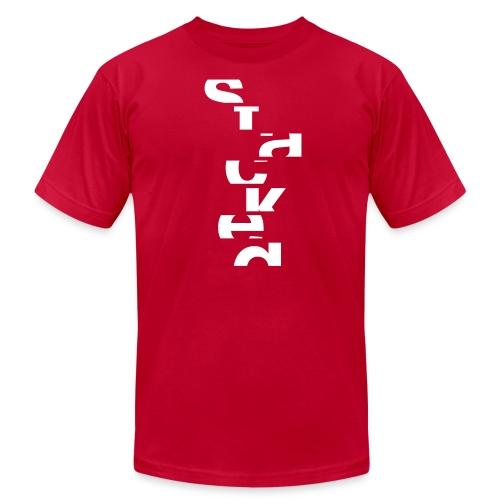 Men's STACKED T-shirt - Men's Fine Jersey T-Shirt