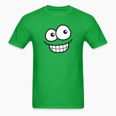 grin_face_3b T-Shirts