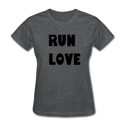 Run Love - Women's T-Shirt