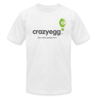 T-Shirts ~ Men's T-Shirt by American Apparel ~ crazyegg - Mens